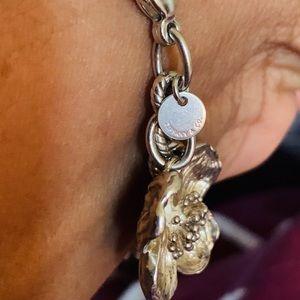 AUTHENTIC vintage Tiffany & co dogwood bracelet